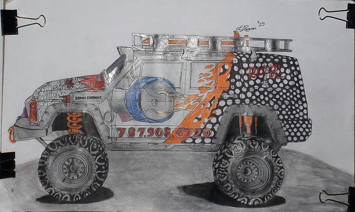 Commission: Ricky's Auto Paint XJ Cherokee by Mister-Lou