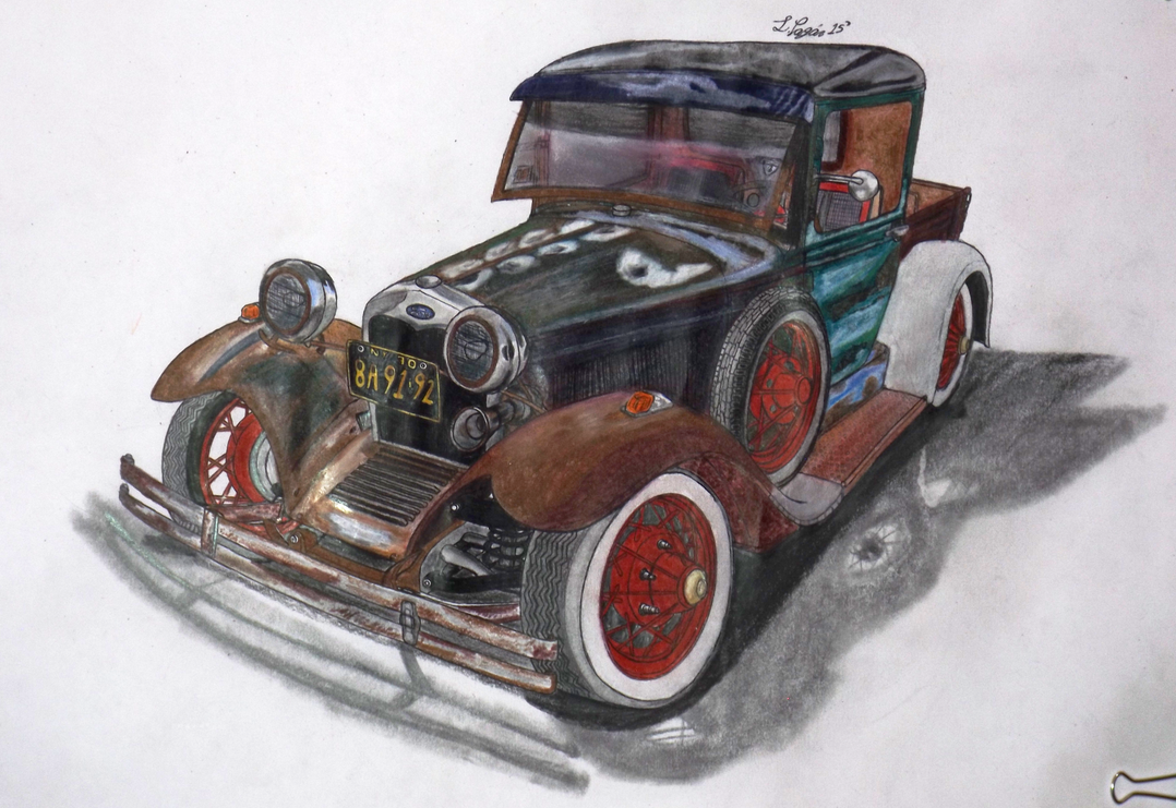 29' Ford Model A Rat Truck by Mister-Lou