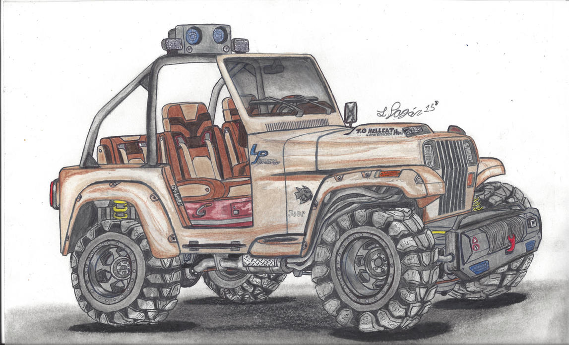 Jeep YJ Off Roader by Mister-Lou