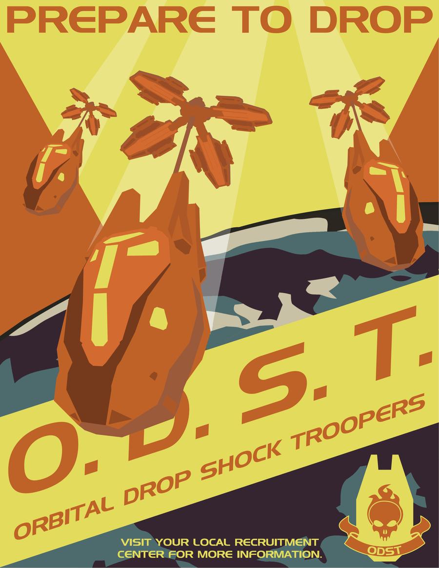 Halo Propaganda Recolor by Unsc Propaganda