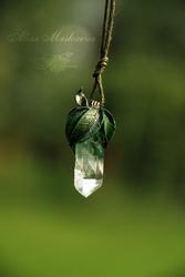 Elven nature pendant