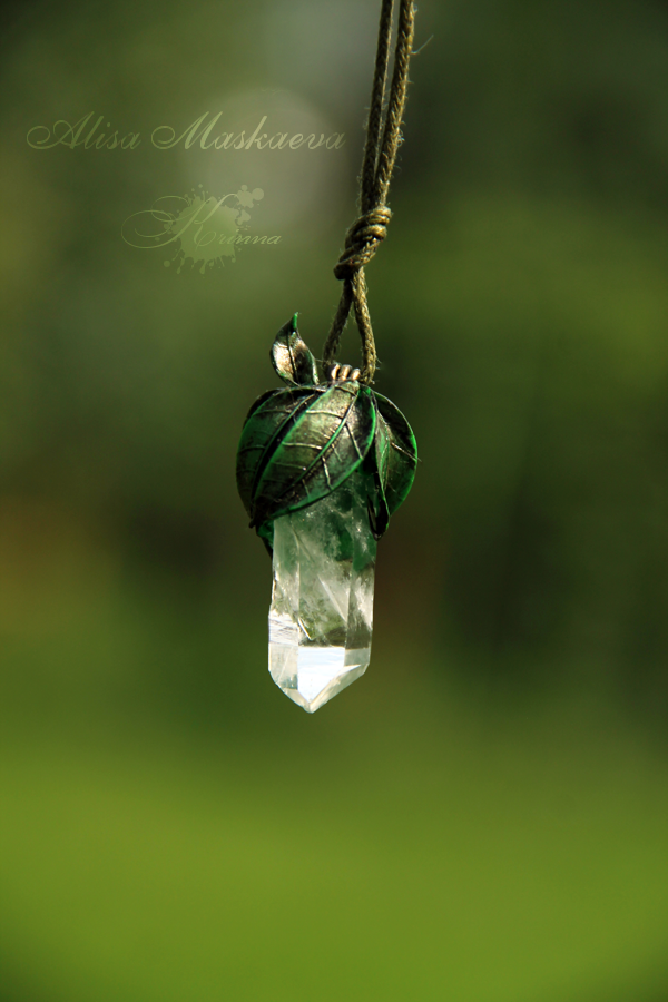 Elven Nature Pendant By Krinna On Deviantart