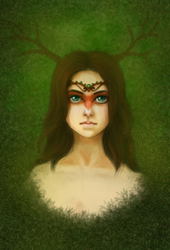 Forest Spirit by Krinna