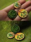 New miniature pendants