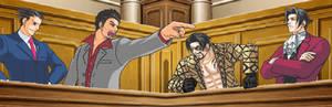 Ace Attorney x Yakuza