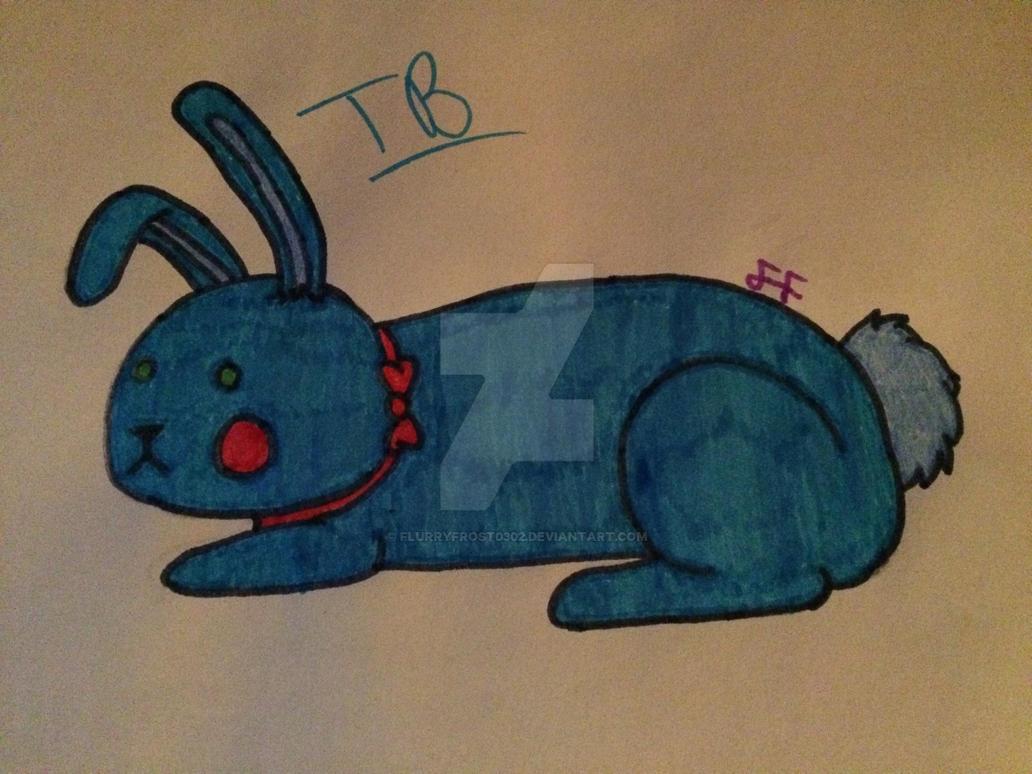 FNaF 2 - Toy Bonnie - Da Little Blue Cinnamon Roll by FlurryFrost0302