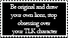Lion King OC stamp by GingaLegendLion