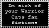 Warrior Cats Stamp by GingaLegendLion