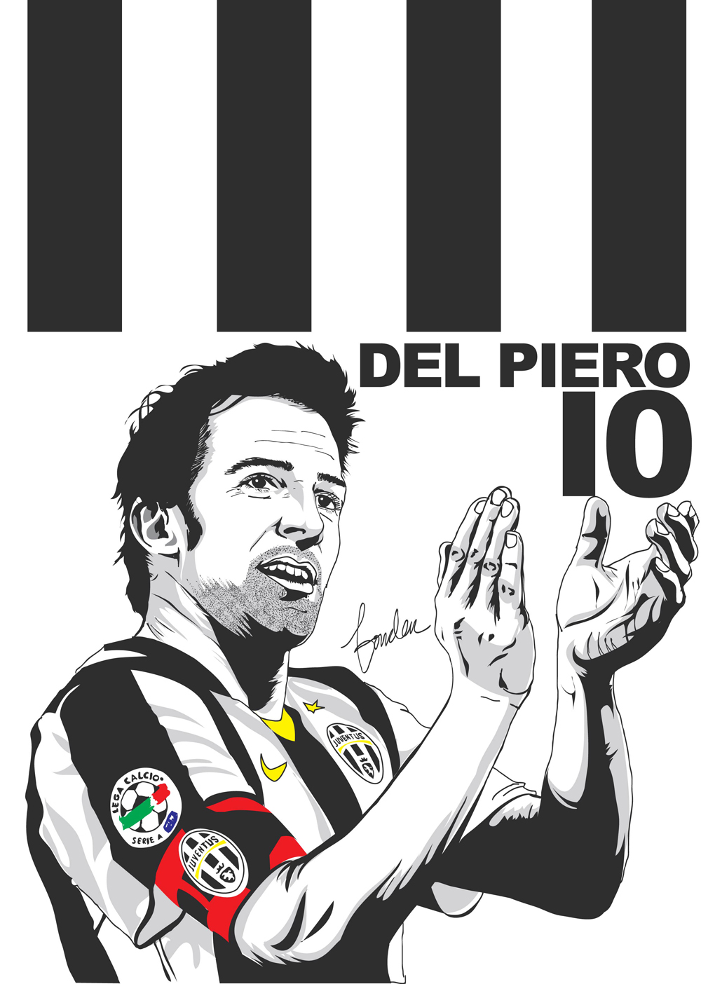 Alessandro Del Piero By Pribadiganda On DeviantArt