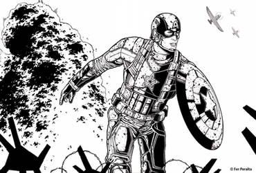 Captain America by FerPeralta