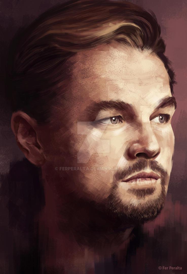 Leo DiCaprio by FerPeralta