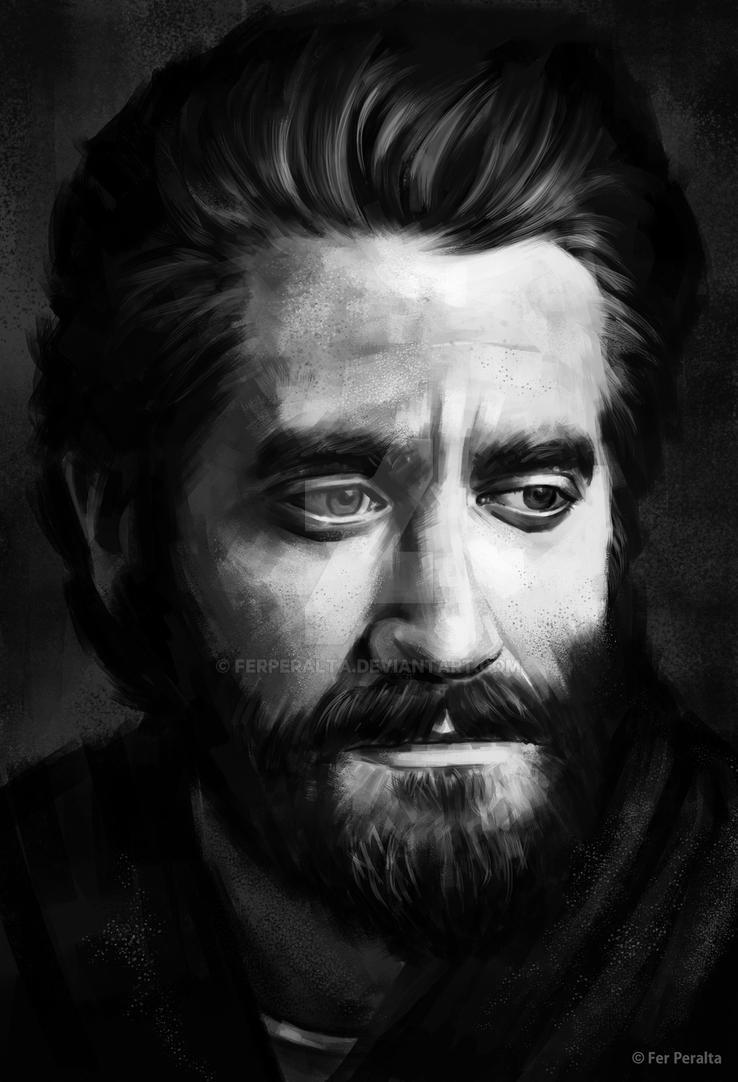 Jake Gyllenhaal by FerPeralta