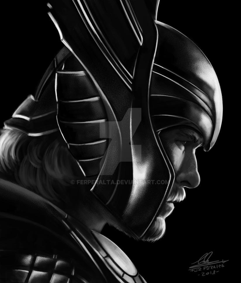 God of Thunder (Thor) by FerPeralta
