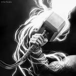 Mjolnir by FerPeralta