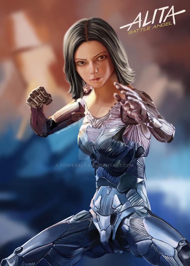 Alita - Battle Angel by FerPeralta