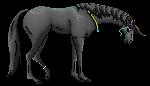 Sad Naara Pixel pony by HopperVal