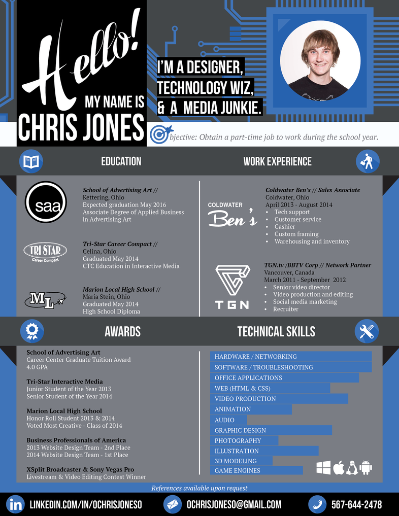 creative resume   web designer by ochrisjoneso on deviantart