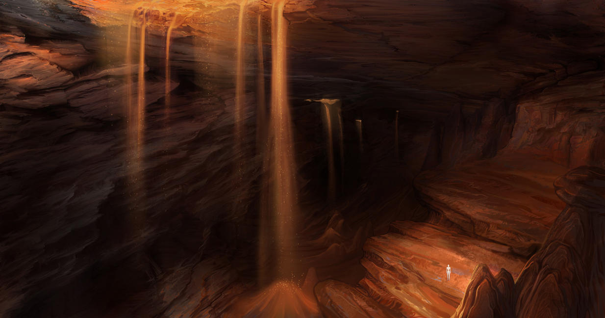 airbrushed artwork cavern concept - photo #26