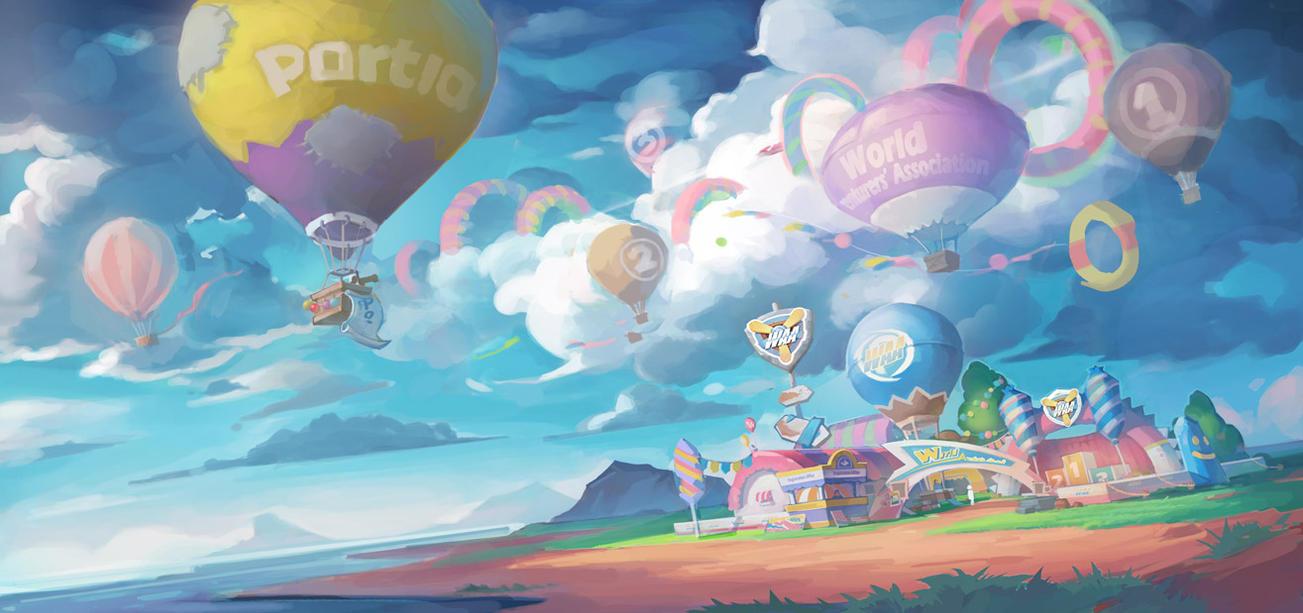 Portia Air Race by PatheaGames