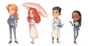 Portia NPC Characters by PatheaGames