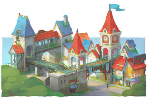 Portia Houses by PatheaGames