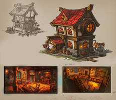 Town Tavern by PatheaGames