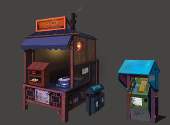 Noodle Joint by PatheaGames