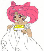 Princess Chibiusa Likes her Dress by MasterOfRa