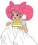 Princess Chibiusa Likes her Dress