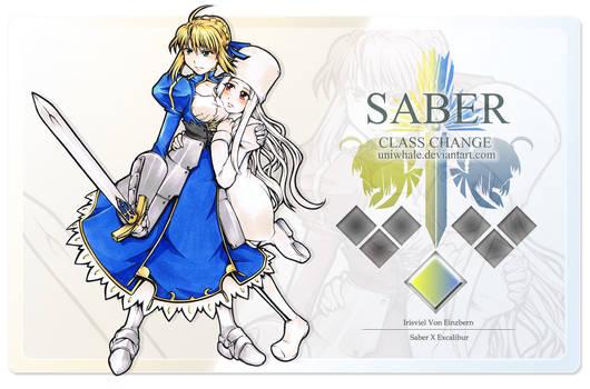 Saber x Irisviel