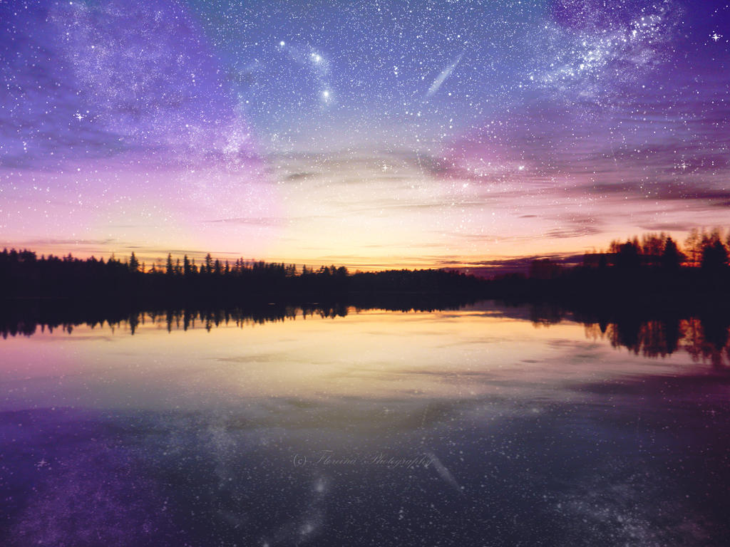 Starry night by Floreina-Photography
