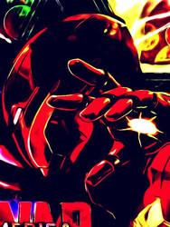 Filtered Iron Man by Kicen