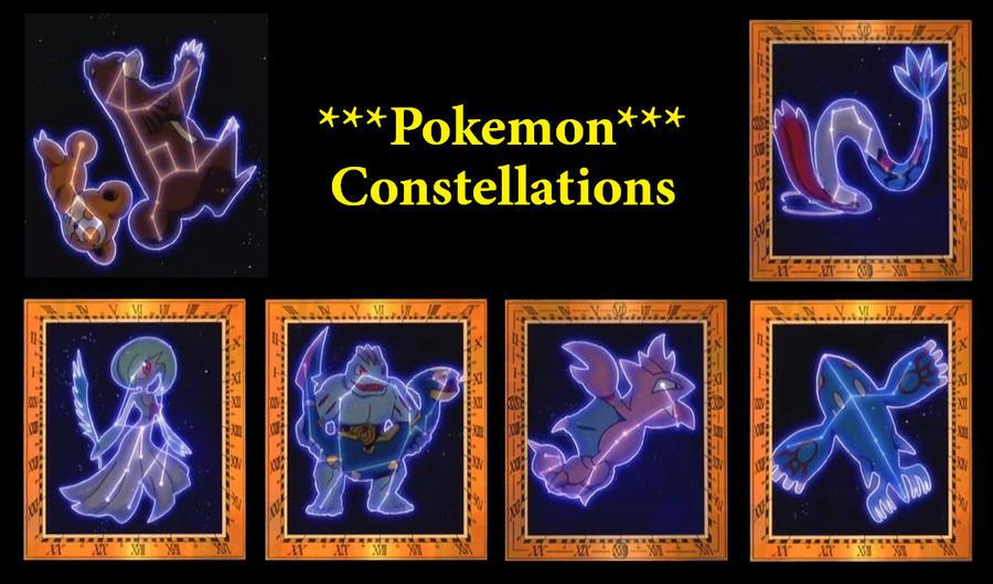 Pokemon Constellations by sLacka18 on DeviantArt