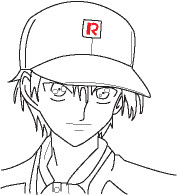 Ryoma Line-art by Tanaxanime