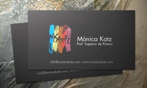Monica Katz - Business Card