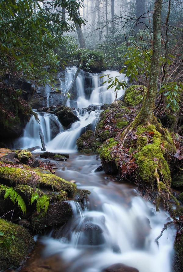 Dusk Falls on Mystic Creek by mewantsbekungfoo