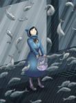 It's raining fish, hallellujah by rufiangel