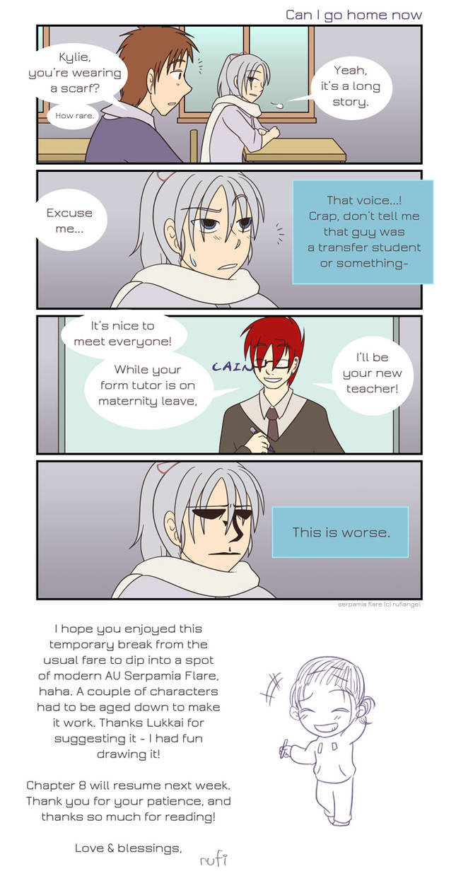 SF Omake - In Another Universe 05 by rufiangel