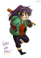 Game with Myl - Mae (NITW) by rufiangel
