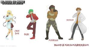 Blood Is Mine - Character Sheet by rufiangel