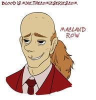 Blood Is Mine - Macland Row by rufiangel