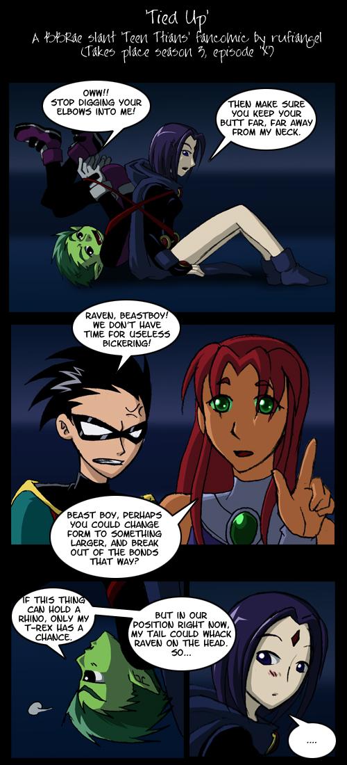 Teen Titans Tied Up - Mature Milf-9454