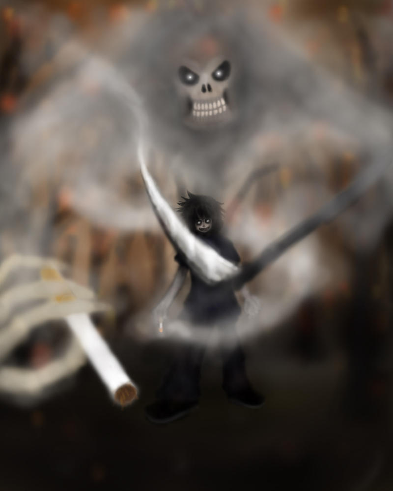 Smoke of Death by VermillionFenrir
