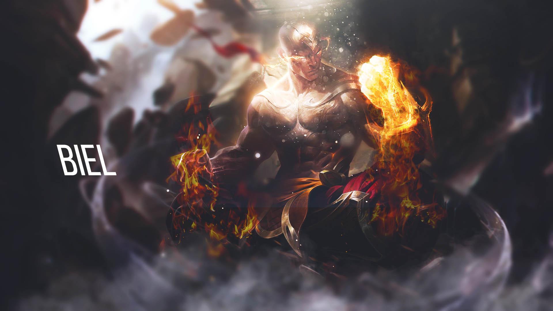 Wallpaper Lee Sin God Fist By Freakin Hal On Deviantart