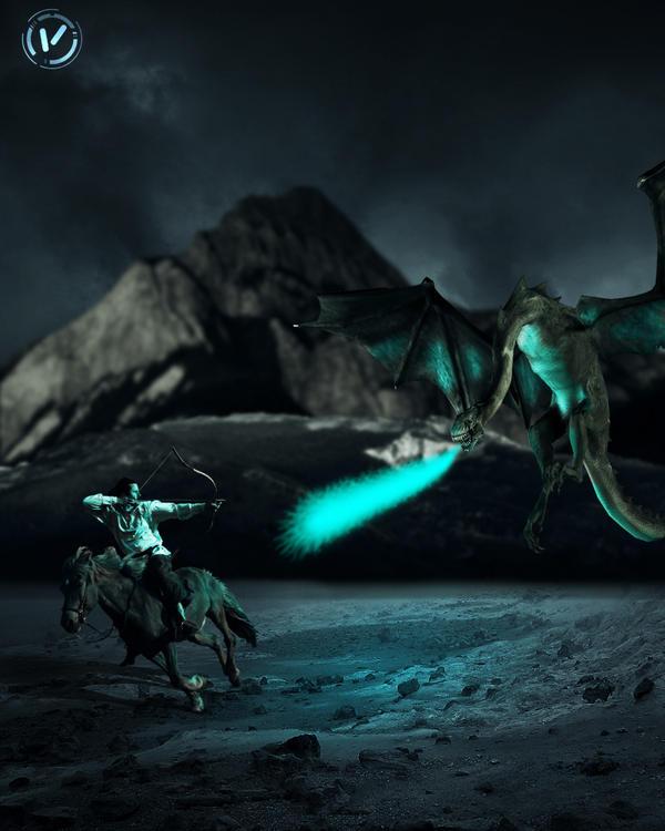 Dragon Slayer by svblackvicky