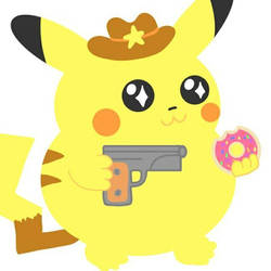 yeehaw pikachu