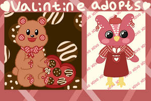 Valentine Adopts $3 (OPEN 2/2) by cinnaminun