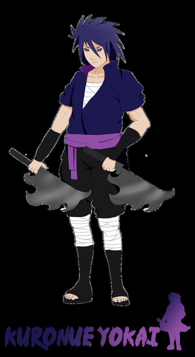 Naruto Oc_Kuronue Yokai by SoulOfPersephone