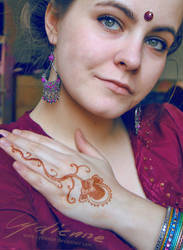 Spring and henna by cydienne