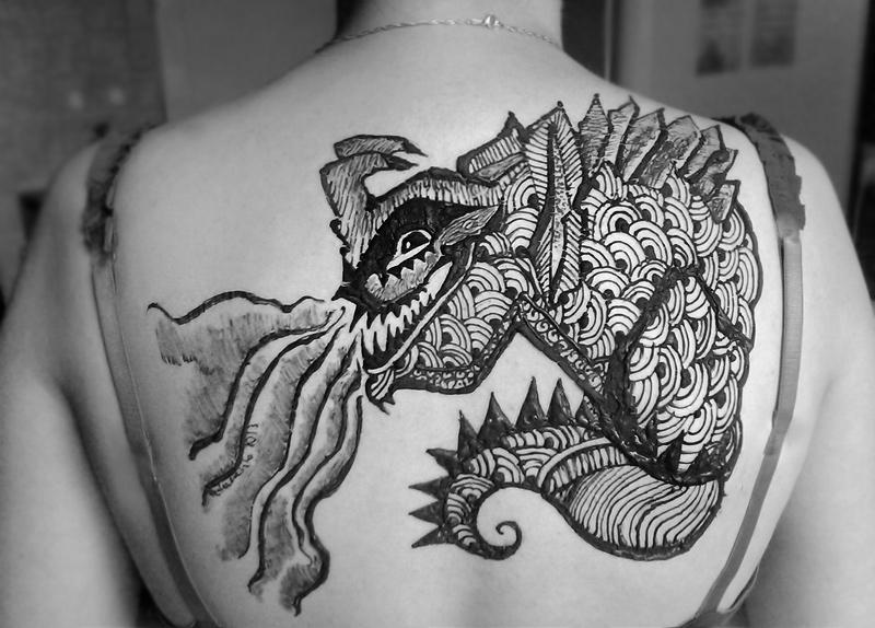 Kaiju tattoos
